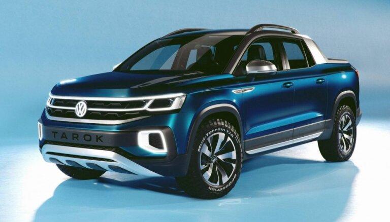VW izgatavojis pikapu uz 'Tiguan' modeļa bāzes