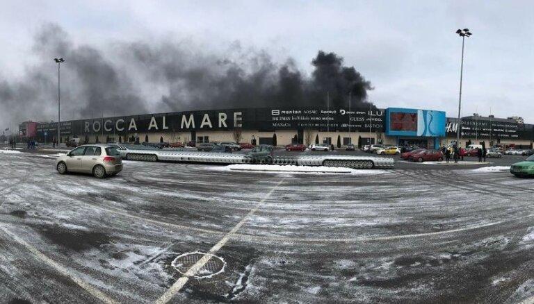 Foto: Tallinā deg tirdzniecības centrs 'Rocca al Mare'