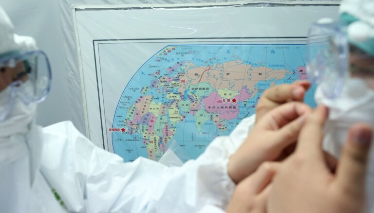 Ķīnā divi cilvēki saslimuši ar pneimonisko mēri