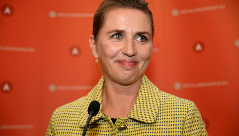 Par Dānijas premjeri kļūs sociāldemokrātu līdere Mete Fredriksena