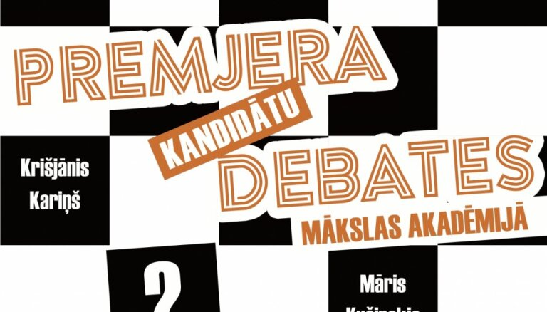 Līdz šim nebijuša formāta premjera kandidātu debates
