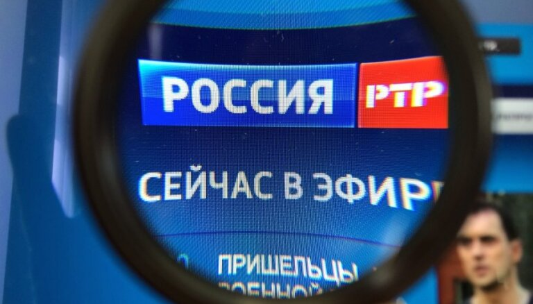 Uz trīs mēnešiem aizliedz 'Rossija RTR' translēšanu Latvijā