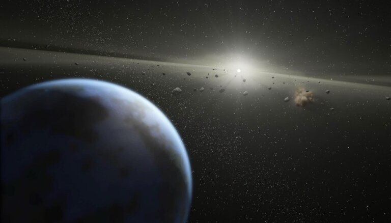 ASV fiksē milzīgu meteorīta sprādzienu