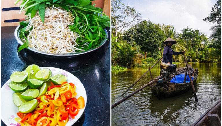 Потрясающая кухня, жизнь на мотоцикле и горы мусора: Как Андра южный Вьетнам изучала