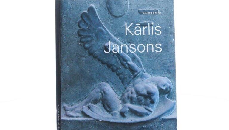 Sērijā 'Latvijas mākslas klasika' iznākusi Aivara Leiša grāmata 'Kārlis Jansons'