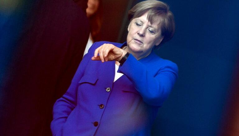 Merkele: ES jāsagatavojas iespējai, ka vienošanās ar Lielbritāniju netiks panākta