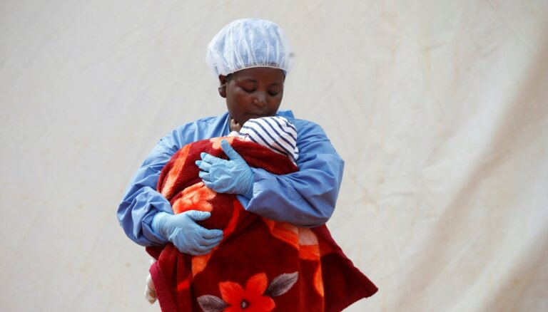 Kongo DR turpina izplatīties Ebola, ziņo PVO