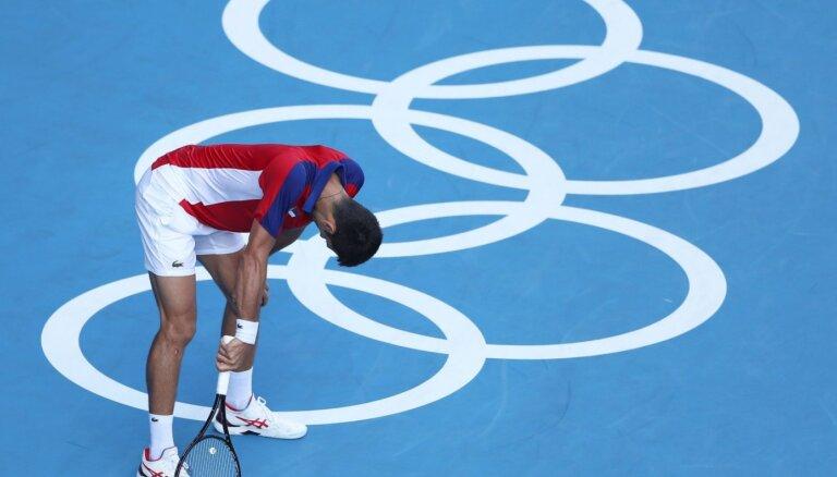 Tokijas vasaras olimpisko spēļu tenisa turnīru rezultāti (31.07.2021)