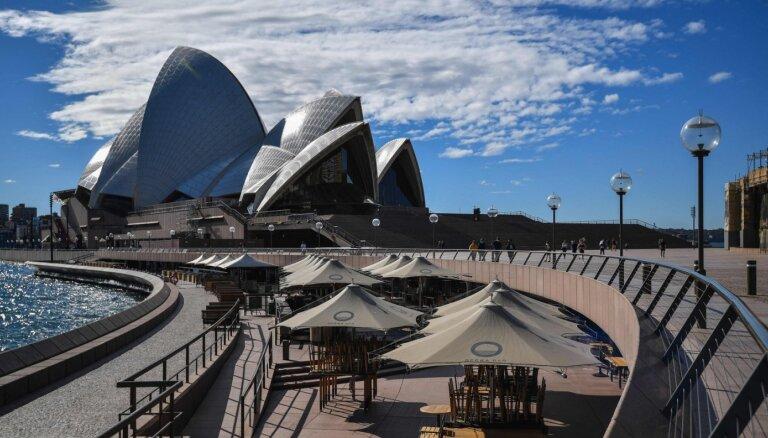 Sidnejā ievieš divu nedēļu mājsēdi pēc 80 Covid-19 gadījumiem dažās dienās