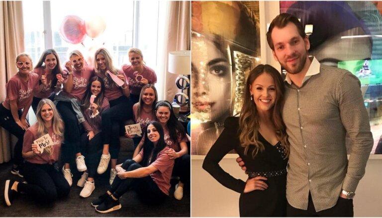 ФОТО: Невеста латвийской звезды НХЛ Гиргенсонса отгуляла девичник