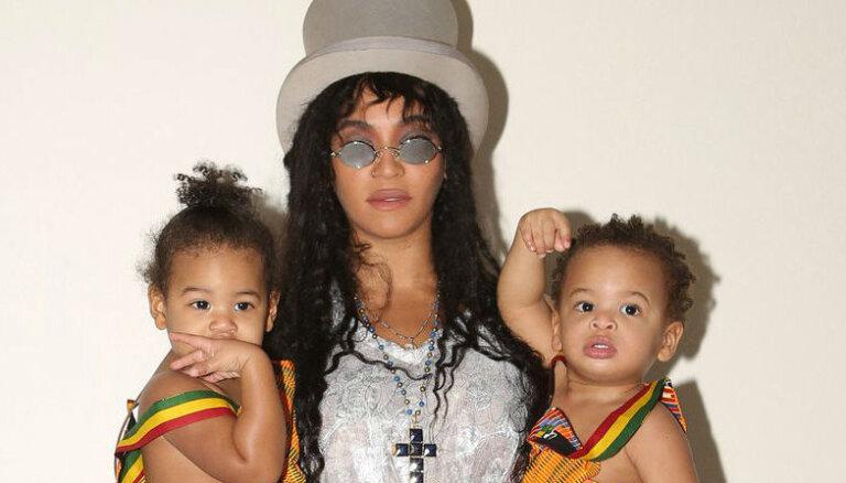 Rets foto: Kā paaugušies Bejonsas un Jay Z dvīņi