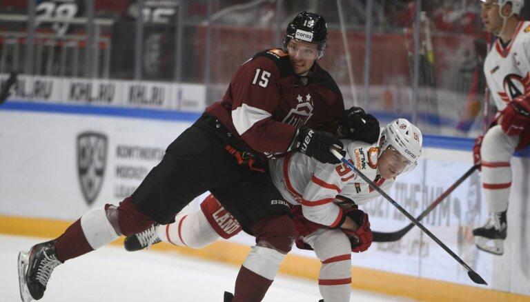 Rīgas 'Dinamo' izcīna punktu, taču pagarinājumā piedzīvo zaudējumu