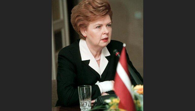 Президент Латвии выразила возмущение по поводу взрывов в рижском универмаге
