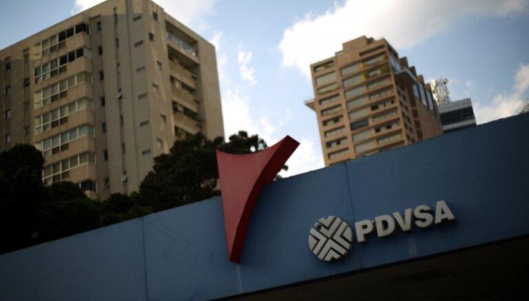 ASV ievieš sankcijas pret Venecuēlas valsts naftas kompāniju