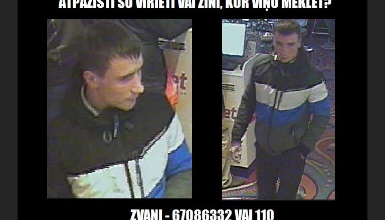 Par kāda kazino klienta apzagšanu meklē vīrieti