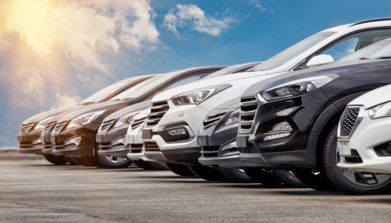 Latvija ir starp 12 Eiropas valstīm ar jaunu auto reģistrācijas kāpumu