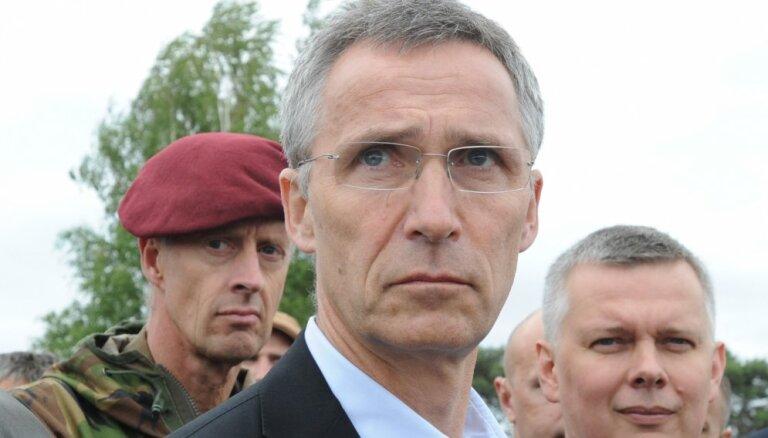 Столтенберг сожалеет по поводу инцидента с боевой ракетой в Эстонии