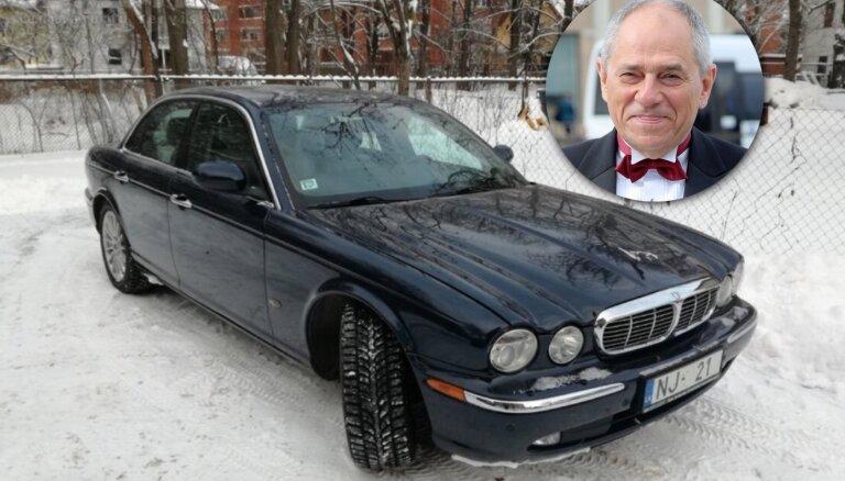 Бывший премьер-министр продает свой лимузин Jaguar