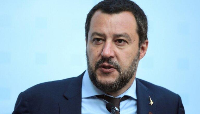Patiesie eiroskeptiķi ir pašreizējie ES līderi, norāda Salvīni