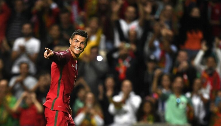 Криштиану Роналду — лучший спортсмен 2017 года в Европе