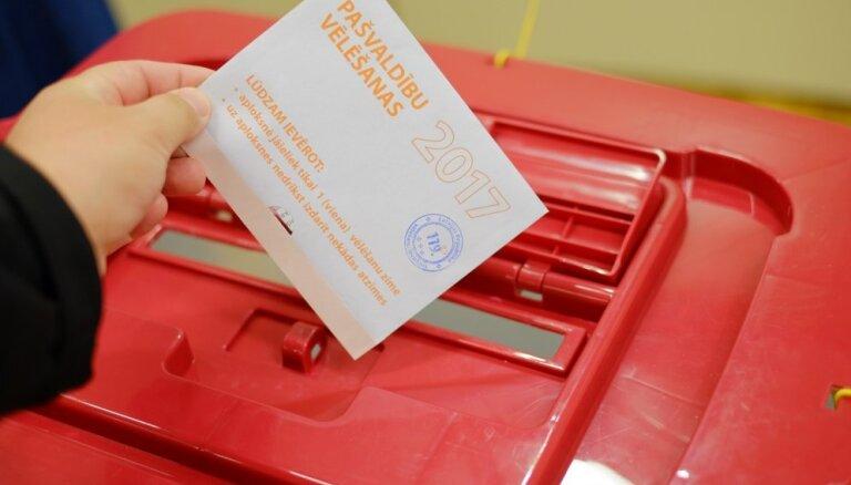 На повторные выборы в Кекавской волости пока явилось только 30 человек
