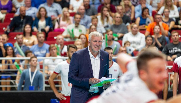Latvijas volejbola izlasē iekļauts 21 kandidāts uz EČ kvalifikācijas spēlēm