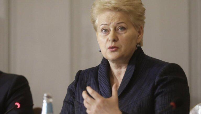"""Грибаускайте резко осудила историю с """"охотой Дуклавса"""" в Литве"""