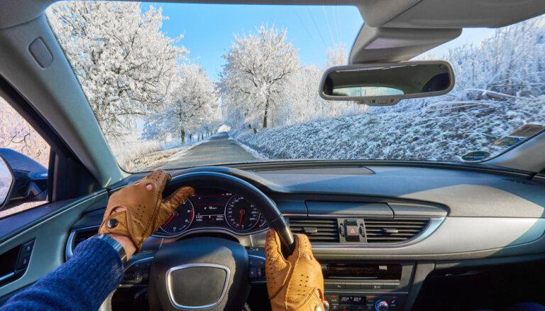 Seši soļi ceļā uz drošu pārvietošanos ar auto ziemā