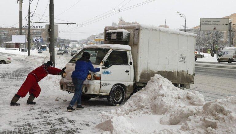 Снегопад в Москве побил почти 70-летний рекорд