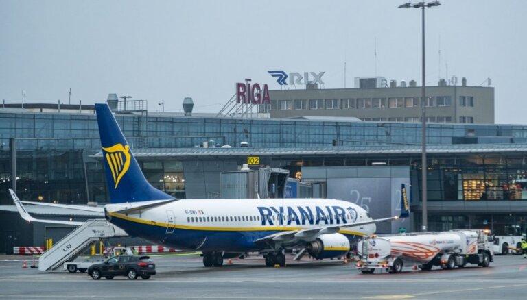Rīgas lidosta atkal iesaistās cīņā par 'Ryanair' bāzes izvietošanu