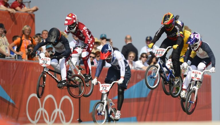 BMX riteņbraucēja Aleksejeva izcīna trešo vietu EČ
