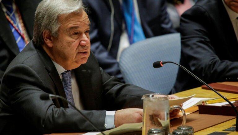 Генсек ООН назвал главную опасность вновь развязавшейся холодной войны
