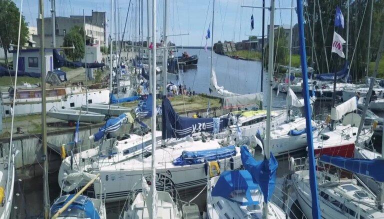 Rīgas jūras līča regates pirmā diena