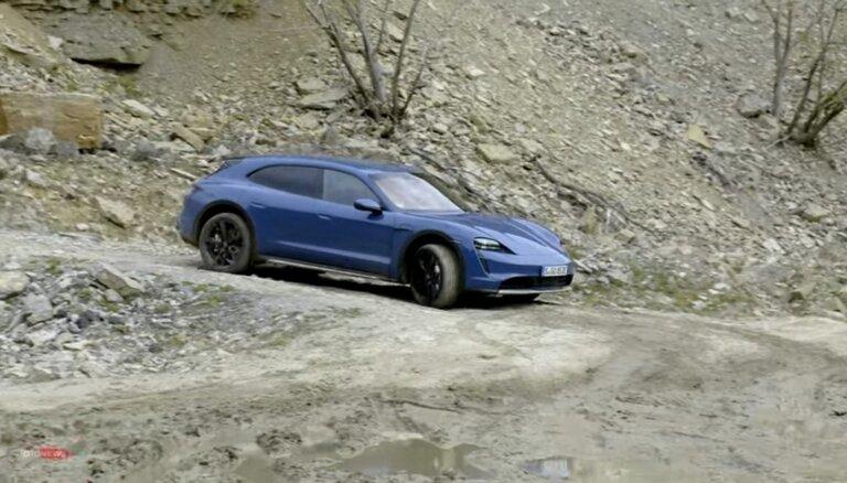 """Porsche Taycan Cross Turismo: тест-драйв электрического """"зверя"""" (ВИДЕО)"""