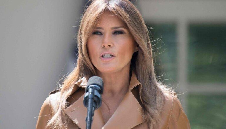 Melānija Trampa ierauta jaunā plaģiāta skandālā