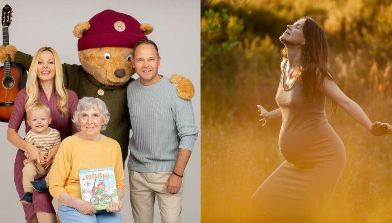 Gaidību dziesmas un Ričijs Rū – mazuļu lološanas laikā top dāvanas citām ģimenēm
