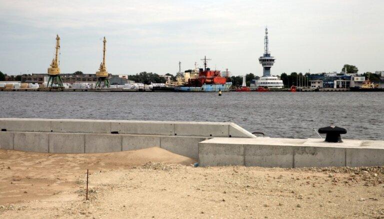 Brīvosta uzņēmumam uzbūvē noliktavas miljons eiro vērtībā