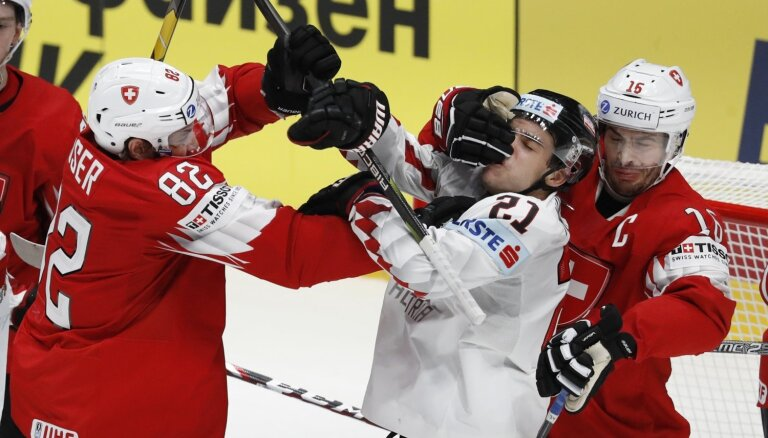 Latvijas konkurente Šveice gūst otro 'sauso' uzvaru pasaules čempionātā