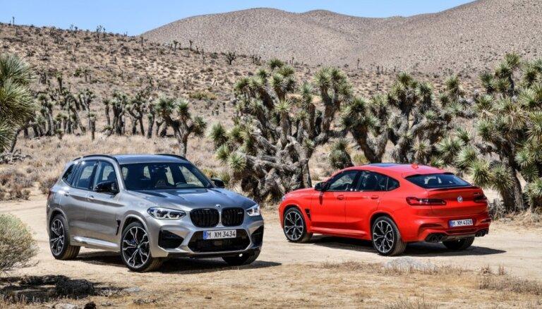 'BMW X3' un 'X4' sportiskā 'M' versija ar 510 ZS
