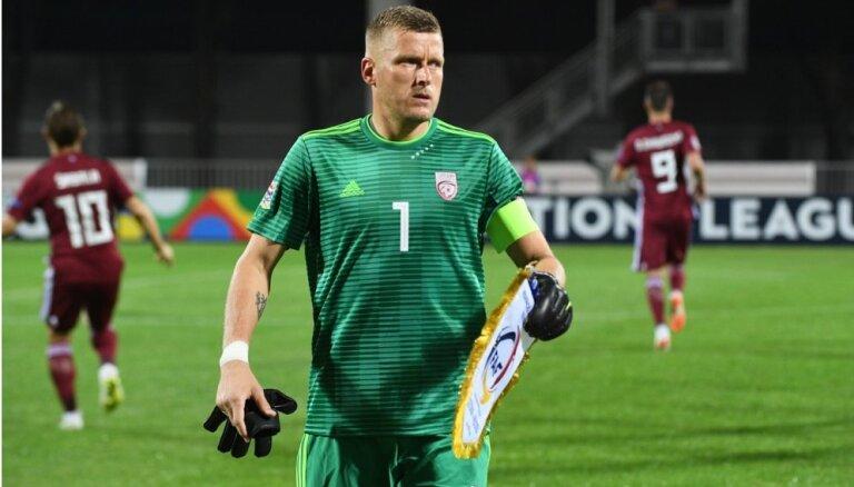 Vaņins: Gruzijā centīsimies parādīt labāku sniegumu nekā spēlē pret Andoru
