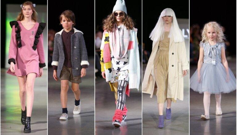 Rīgas modes nedēļas atklāšana: bērnu stils, drosmīgi dizaini un vienkārša elegance