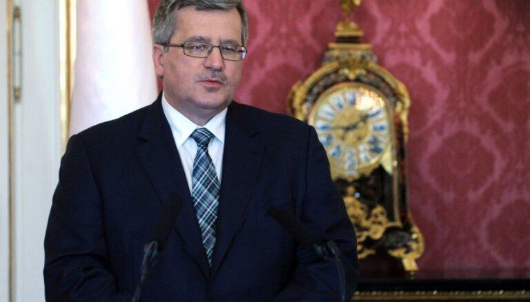 Polijas prezidents ierosina atlikt daļu Ukrainai izvirzīto ES prasību