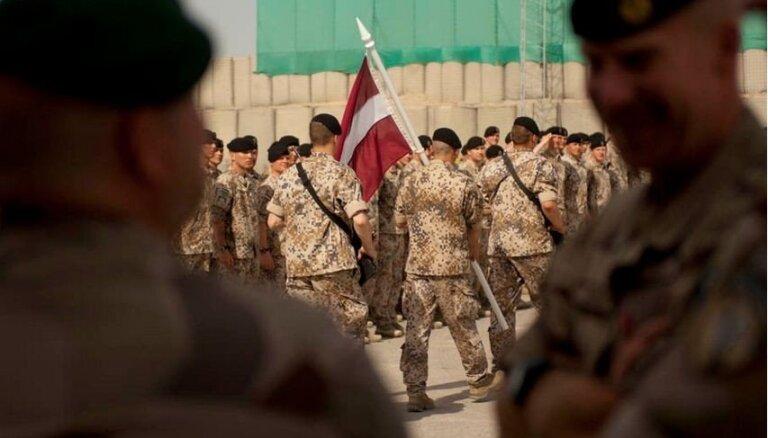 Латвия увеличит число своих солдат в Афганистане