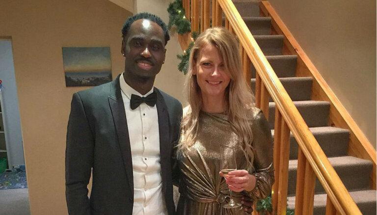 Madara Palameika apstiprina attiecības ar gambiešu izcelsmes sprinteri