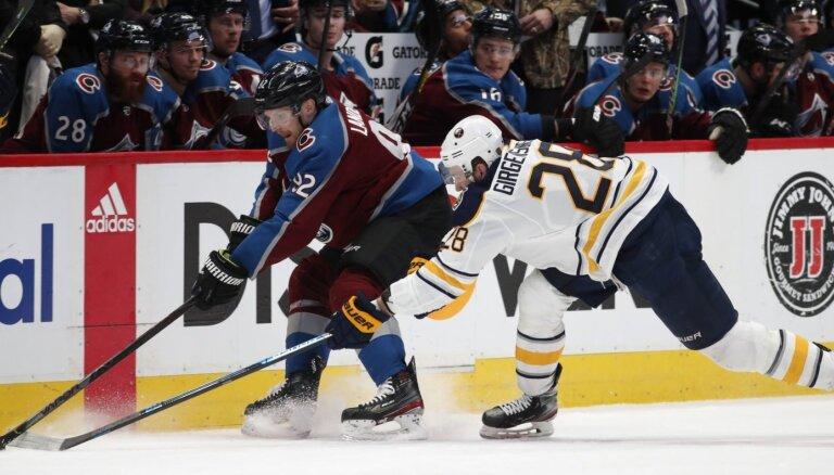 'Sabres' neaizsargās Girgensonu NHL paplašināšanās draftā