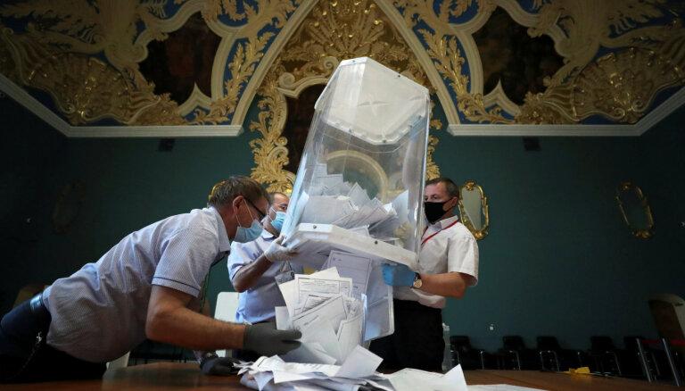 Евросоюз призвал Москву расследовать нарушения на голосовании по поправкам