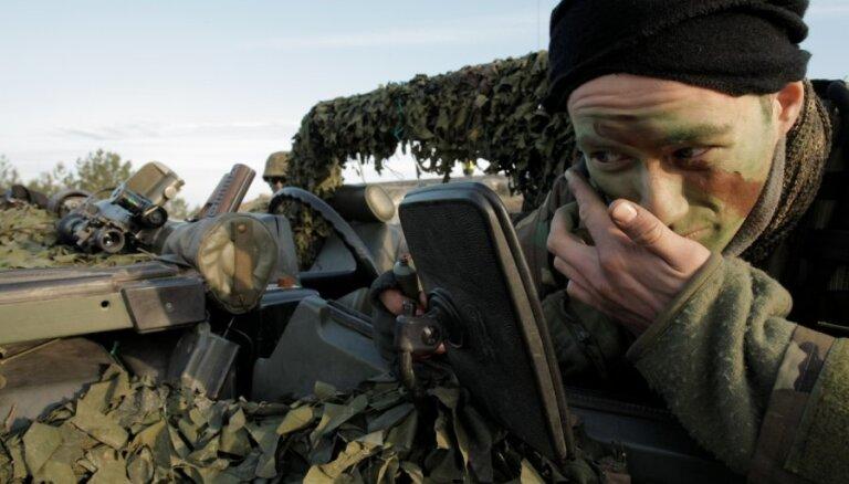 До осени солдаты батальона НАТО частично будут жить в палатках