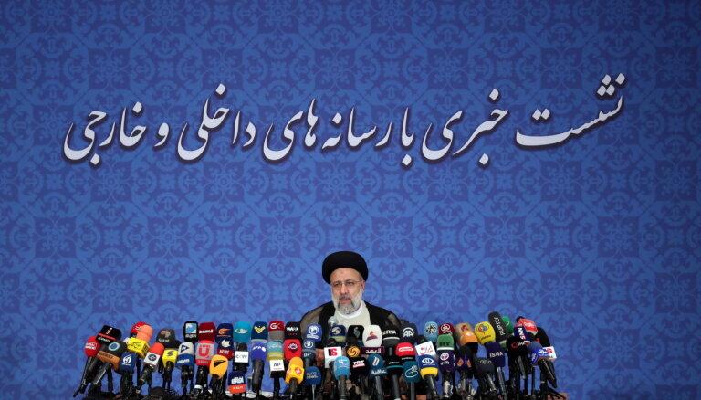 Irānas jaunais prezidents šobrīd nesaredz iespēju tikties ar Baidenu