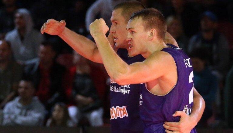 Latvijas 3x3 basketbolisti Ķīnā apstājas 'Challenger' posma pusfinālā