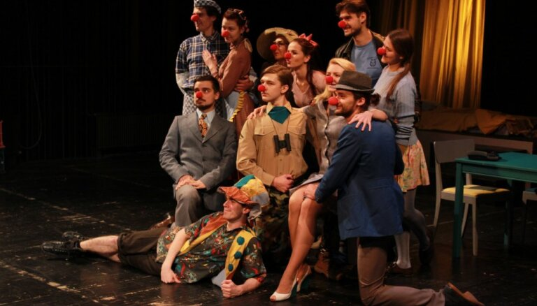 Jaunie aktieri atrādīs izrādi bērniem 'Jokdara Bustera pasaule'